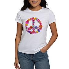 Peace Flowers Tee