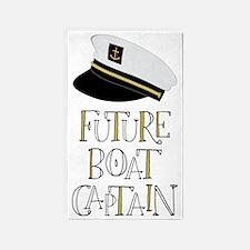 Future Boat Captain 3'x5' Area Rug