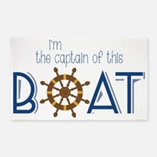 I'm The Captain 3'x5' Area Rug