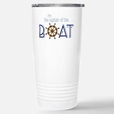I'm The Captain Travel Mug