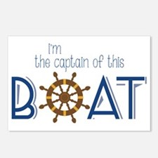 I'm The Captain Postcards (Package of 8)