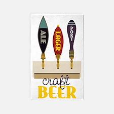 Craft Beer 3'x5' Area Rug