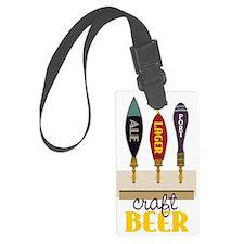 Craft Beer Luggage Tag