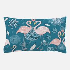 Cute Flamingos Pillow Case