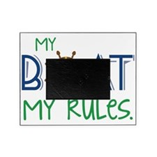 My Boat Rules Picture Frame