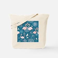 Cute Flamingos Tote Bag