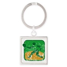 Tennis (used) Square Keychain