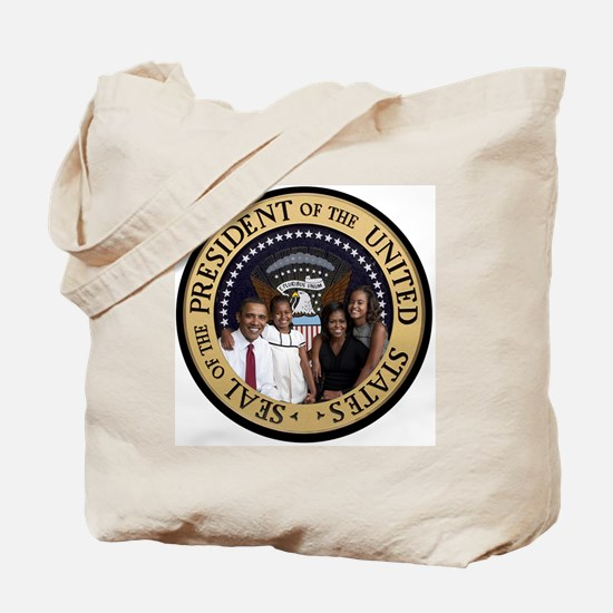 Obama First Family T SHirt Tote Bag