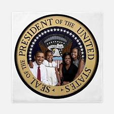 Obama First Family T SHirt Queen Duvet