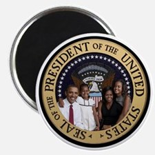 Obama First Family T SHirt Magnet