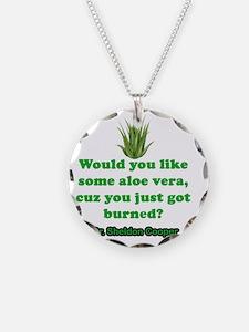 Sheldon Cooper Quote Necklace