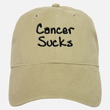 Cancer Sucks Baseball Baseball Cap