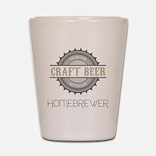Home Brewer Shot Glass