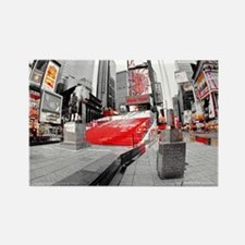 NewYork_18.8X12.6_Bag_DuffySquare Rectangle Magnet
