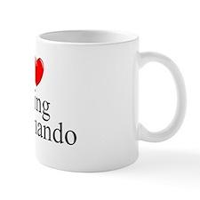 """I Love (Heart) Going Commando"" Mug"