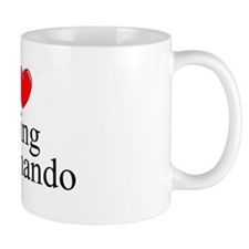 """I Love (Heart) Going Commando"" Small Mug"