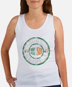 Vintage 100% Grade A Irish Stamp  Women's Tank Top