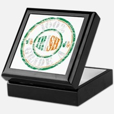 Vintage 100% Grade A Irish Stamp (dis Keepsake Box