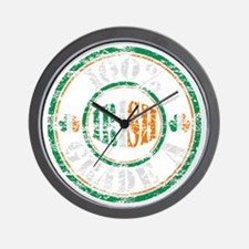 Vintage 100% Grade A Irish Stamp (distr Wall Clock