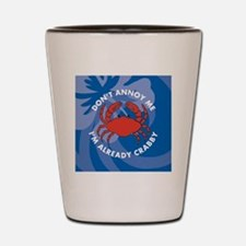 Dont Annoy Me Square Keychain Shot Glass