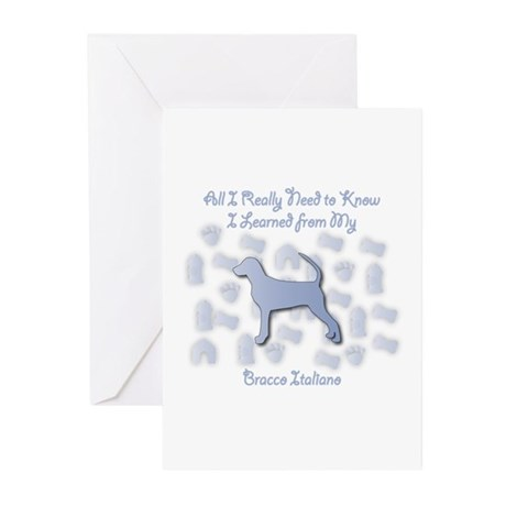 Learned Bracco Greeting Cards (Pk of 10)