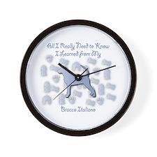 Learned Bracco Wall Clock