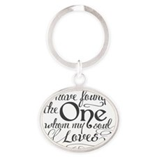 Song of Solomon Oval Keychain