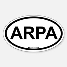 ARPA Oval Decal