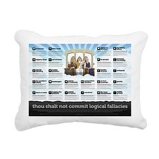 Thou Shall Not Commit Lo Rectangular Canvas Pillow