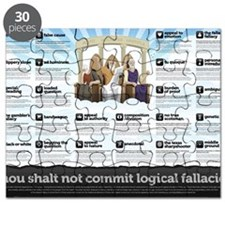 Thou Shall Not Commit Logical Fallacies Pos Puzzle