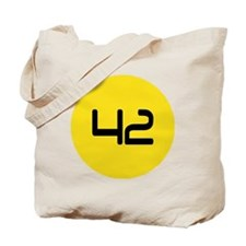 Fourty Two 42 Modern Number Tote Bag