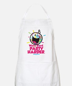 Party Hard Smiley Apron