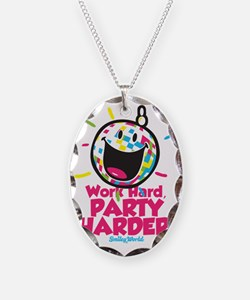 Party Hard Smiley Necklace