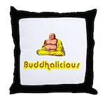 Buddhalicious Throw Pillow