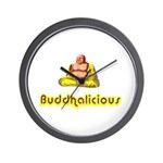 Buddhalicious Wall Clock