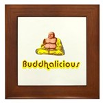 Buddhalicious Framed Tile