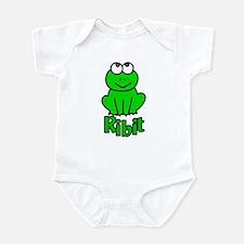 Ribit Goes the Frog Infant Bodysuit