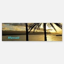 Sunset Haleiwa Bumper Bumper Sticker