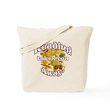 Reading Away BL Tote Bag