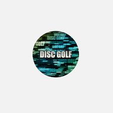 Disc Golf Mini Button