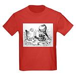 Pigeon Trio Kids Dark T-Shirt