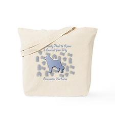 Learned Caucasian Tote Bag