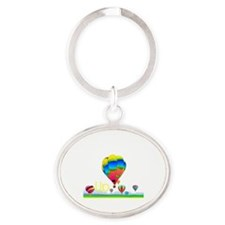 up2a Oval Keychain