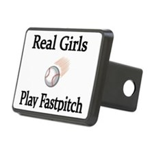 Real Girls Play Fastpitch Hitch Cover