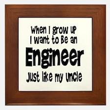 WIGU Engineer Uncle Framed Tile