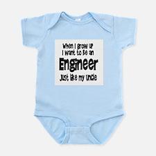 WIGU Engineer Uncle Infant Bodysuit