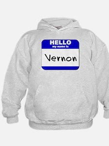 hello my name is vernon Hoodie