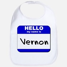 hello my name is vernon  Bib