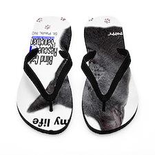 Poppy - light up my life Flip Flops