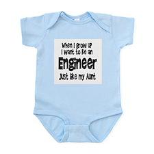 WIGU Engineer Aunt Infant Bodysuit